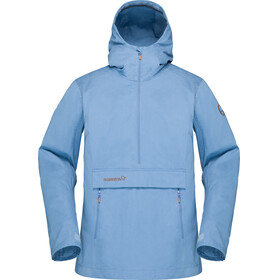 Norrøna W's Svalbard Cotton Anorak Coronet Blue